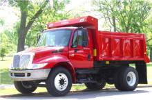 Red U-451 Warren Dump Body