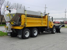 Warren WXL Dump Body and AC2420 Spreader