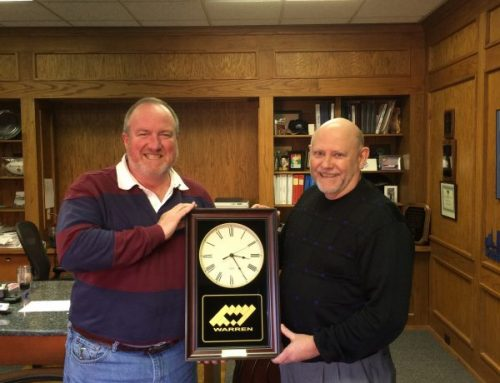 25 Years of Service – Congratulations Mike Dennis