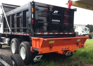 14 ft dump body with tailgate spreader