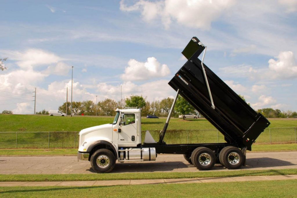 Front Mount Telescopic Dump Body Warren WAR Series